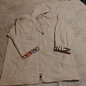 fc37e67c16eb Totes Jackets & Coats - VintageTotes animal print lined hooded rain jacket